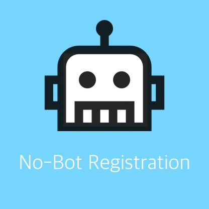 No-Bot Registration by Arnan de Gans