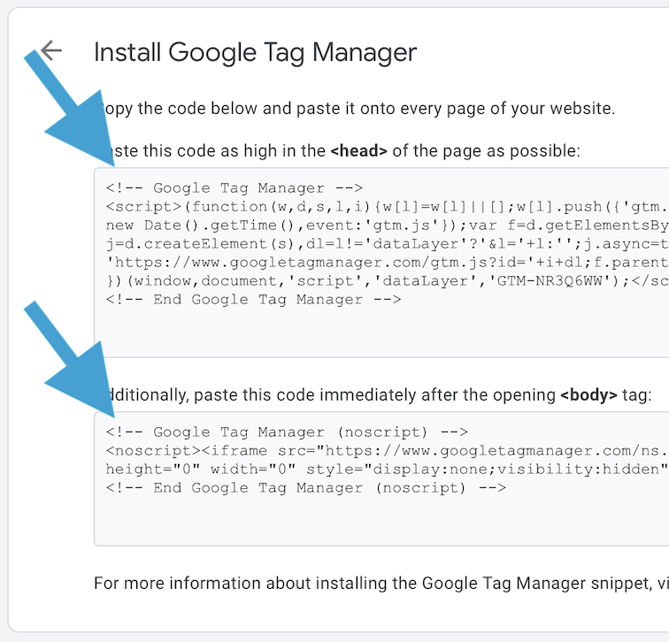 Installing and using Google Tag Manager | AJdG Solutions